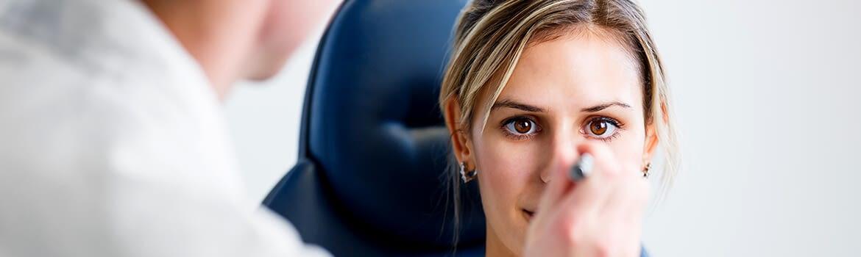 jaskra - badania i tomografia