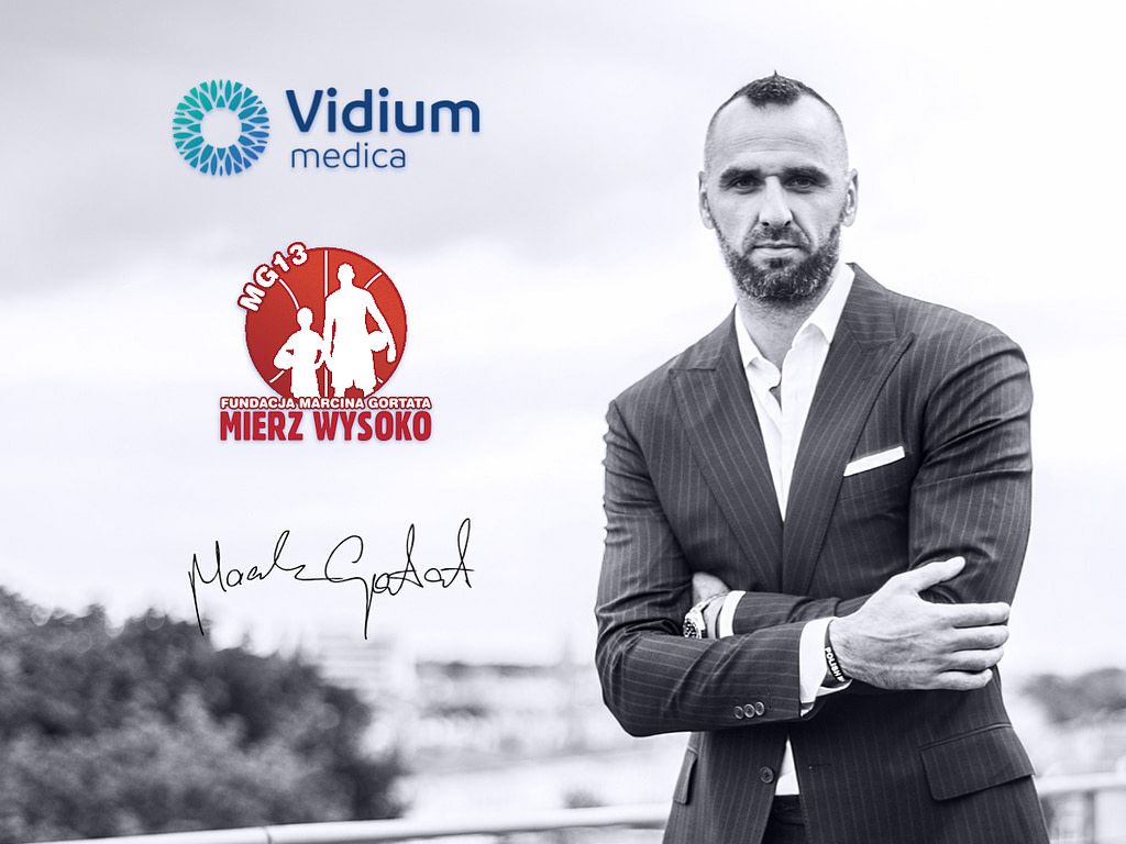 Fundacja Mierz Wysoko MG13 Marcin Gortat Vidium Medica