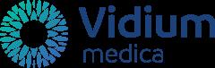 Logo kliniki okulistycznej Vidium Medica działajacej w Krakowie oraz Warszawie